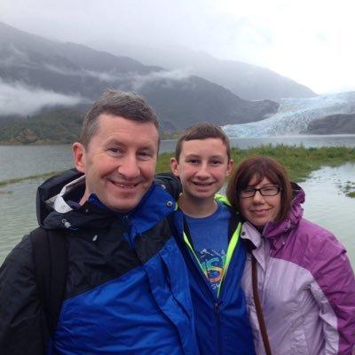 Tassone Family at Mendelsohn Glacier