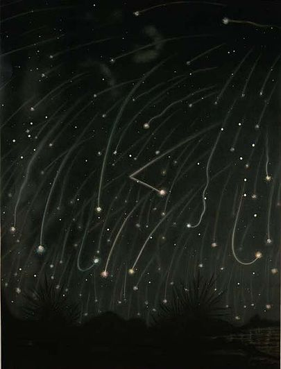 Trouvelot-_The_November_meteors._-_1868
