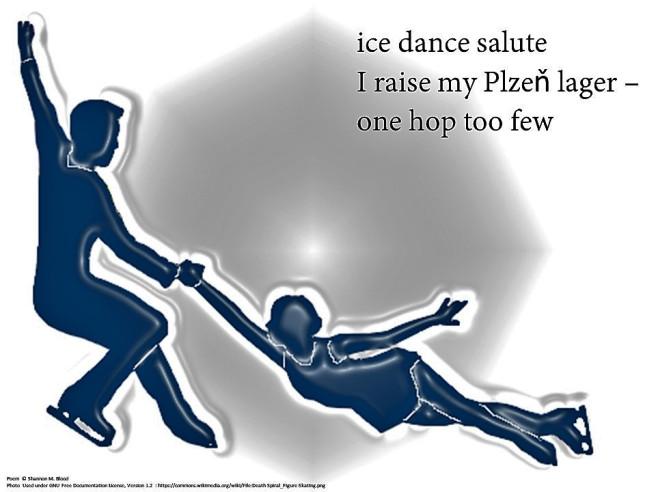 ice skaters dancing