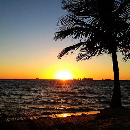 Ines Hegedus-Garcia - another Miami sunset