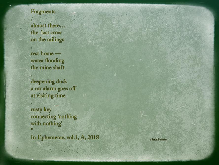 poem sequence,haiku