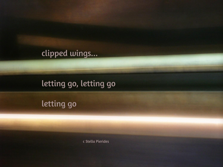 light,clipped wings,haiga