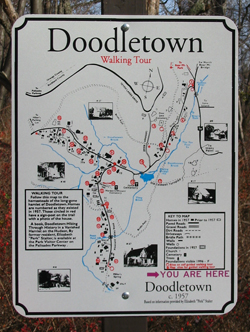 Doodletown_orientation_sign