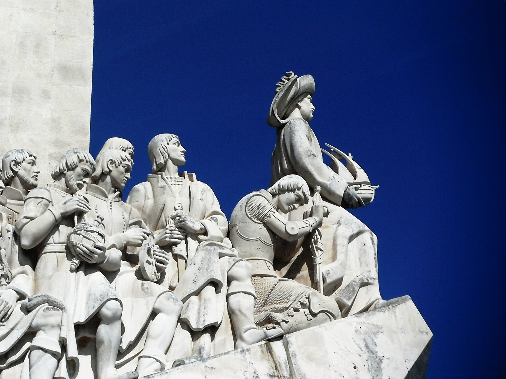 portugal lisbon monument to the discoveries explorers