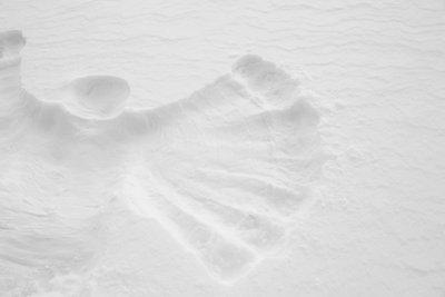 snow angel public domain picture 2018