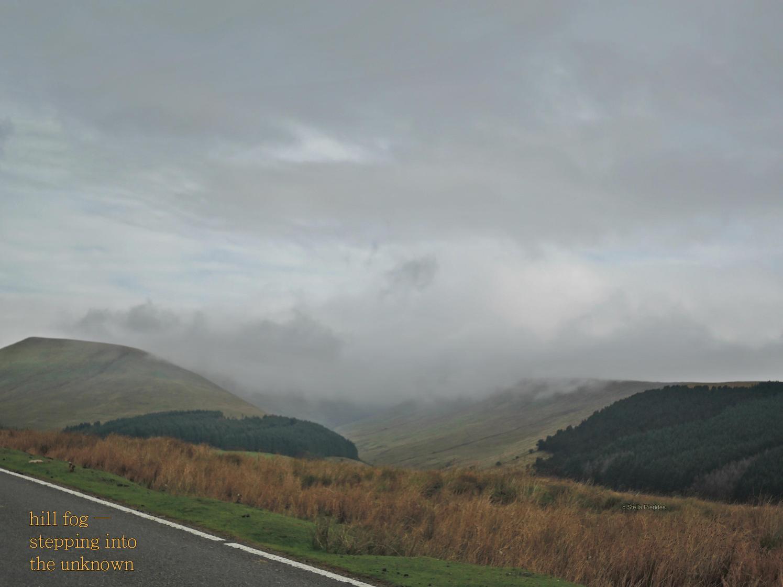 hill fog,Brecon Beacons,