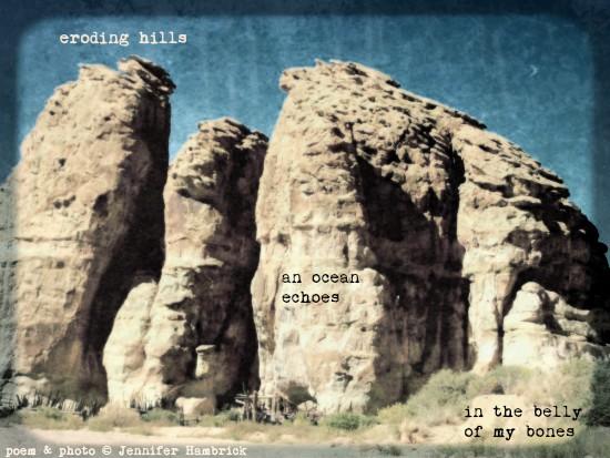 Jennifer Hambrick - eroding hills WITH SIGNATURE