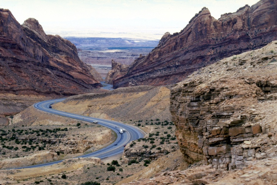Dinosaur Diamond Prehistoric Highway - Dramatic Geology Crossing the San Rafael Swell.jpg