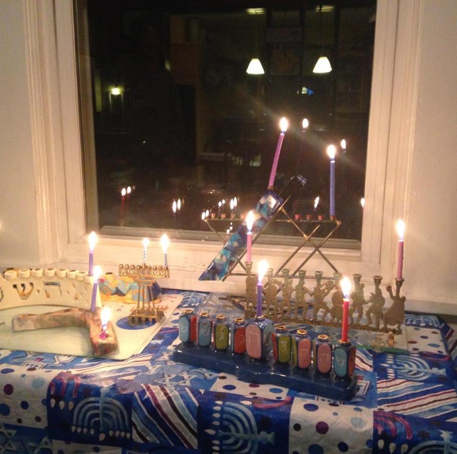 First Night of Hanukkah, December 2018
