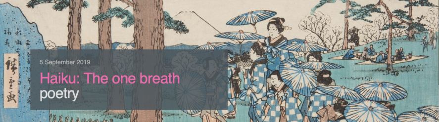 Bristol Museums haiku event banner Screenshot 2019-08-19 at 13.37.12
