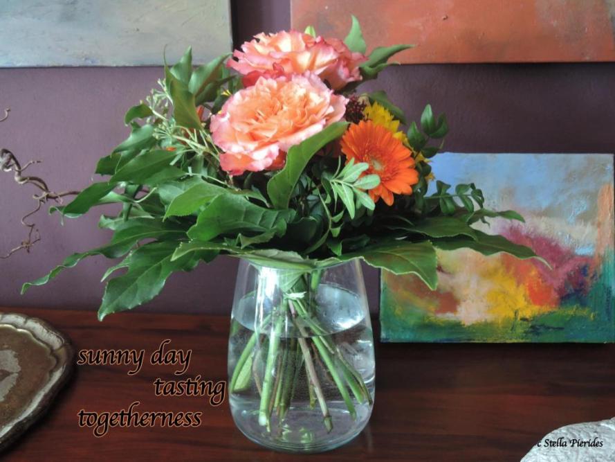 haiga, flowers,