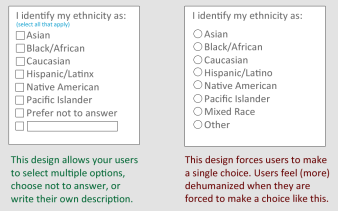 Image result for race checkbox
