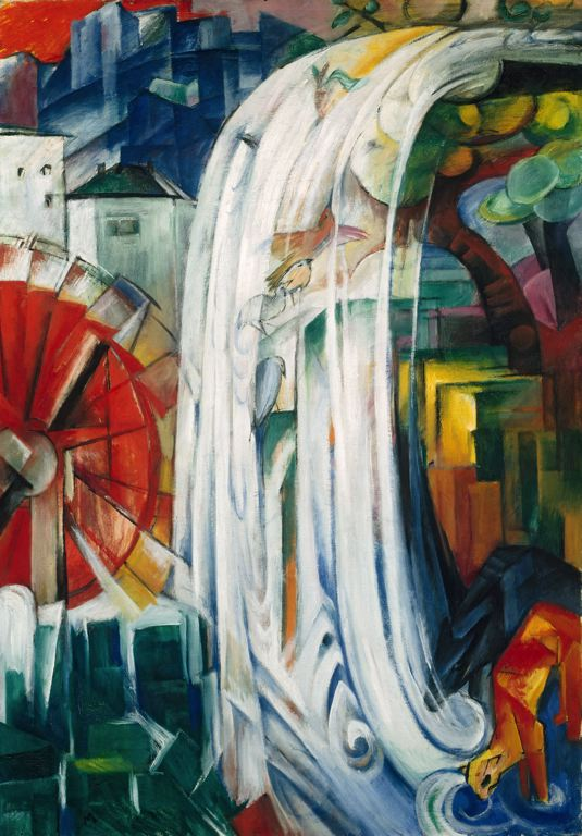 the_bewitched_mill_by_franz_marc_1913